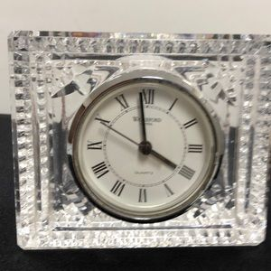 Waterford Accents - Waterford crystal clock.